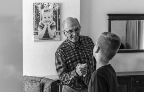 Meeting my grandparents 01